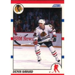 1990-91 Score American c. 125 Denis Savard CHI