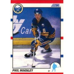 1990-91 Score American c. 145 Phil Housley BUF