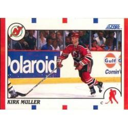 1990-91 Score American c. 160 Kirk Muller NJD