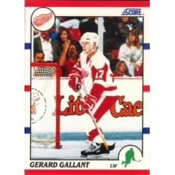 1990-91 Score American c. 180 Gerard Gallant DET