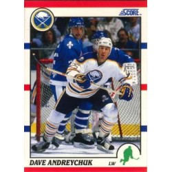 1990-91 Score American c. 189 Dave Andreychuk BUF