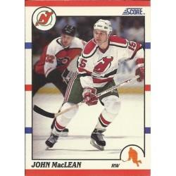 1990-91 Score American c. 190 John MacLean NJD