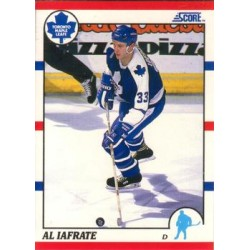1990-91 Score American c. 195 Al Iafrate TOR
