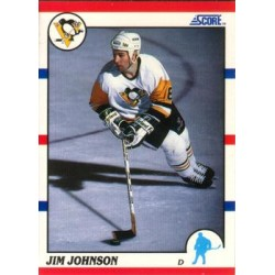 1990-91 Score American c. 202 Jim Johnson PIT