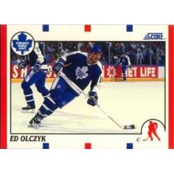 1990-91 Score American c. 210 Ed Olczyk TOR