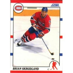 1990-91 Score American c. 238 Brian Skrudland MON