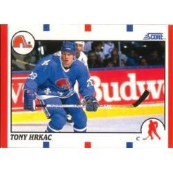 1990-91 Score American c. 256 Tony Hrkac QUE
