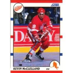 1990-91 Score American c. 287 Kevin McClelland DET