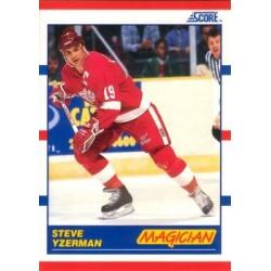 1990-91 Score American c. 339 Steve Yzerman DET