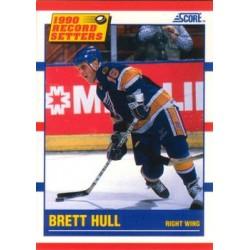 1990-91 Score American c. 346 Brett Hull STL