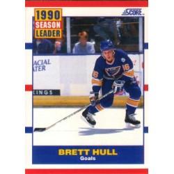 1990-91 Score American c. 351 Brett Hull STL
