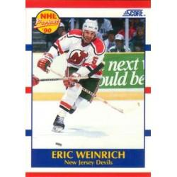 1990-91 Score American c. 389 Eric Weinrich NJD
