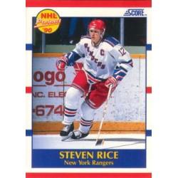 1990-91 Score American c. 390 Steven Rice