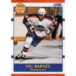 1990-91 Score American c. 391 Stu Barnes WIN