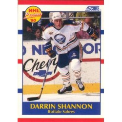 1990-91 Score American c. 410 Darrin Shannon BUF