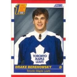 1990-91 Score American c. 434 Drake Berehowsky TOR