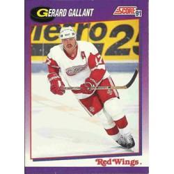 1991-92 Score American c. 034 Gerard Gallant DET