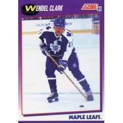 1991-92 Score American c. 116 Wendel Clark TOR