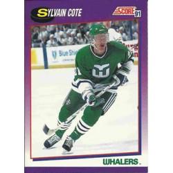 1991-92 Score American c. 129 Sylvain Cote HFD