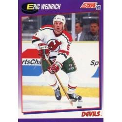 1991-92 Score American c. 131 Eric Weinrich NJD