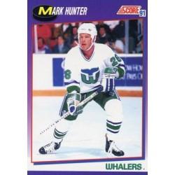 1991-92 Score American c. 156 Mark Hunter HFD