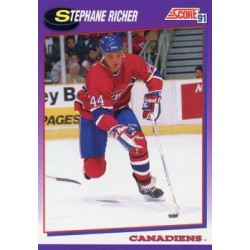 1991-92 Score American c. 234 Stephane Richer MON