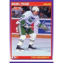 1991-92 Score American c. 317 Michel Picard TP HFD