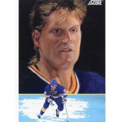 1991-92 Score American c. 347 Brett Hull DT STL