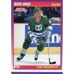 1991-92 Score American c. 383 Mark Greig TP HFD