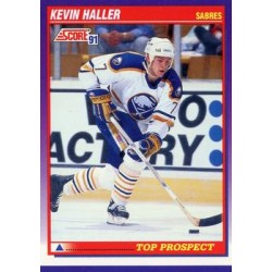 1991-92 Score American c. 386 Kevin Haller TP BUF