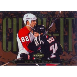1997-98 Score Check It c. 01of18 Eric Lindros PHI