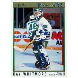 1991-92 O-Pee-Chee Premier c. 182 Whitmore Kay HFD