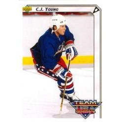 1992-93 Upper Deck c. 395 J.C. Young USA
