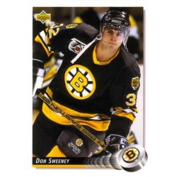 1992-93 Upper Deck c. 391 Don Sweeney BOS