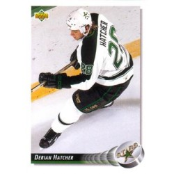 1992-93 Upper Deck c. 287 Derian Hatcher DAL