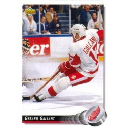 1992-93 Upper Deck c. 246 Gerard Gallant DET