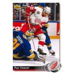 1992-93 Upper Deck c. 176 Paul Ysebaert DET