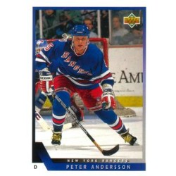 1993-94 Upper Deck c. 071 Peter Andersson