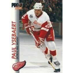 1992-93 Pro Set c. 041 Paul Ysebaert DET