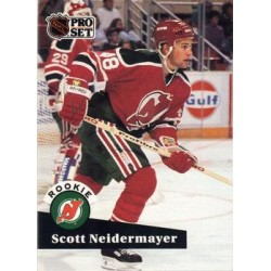 1991-92 Pro Set c. 547 Scott Niedermayer NJD