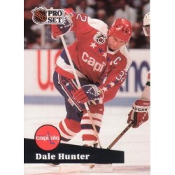 1991-92 Pro Set c. 506 Dale Hunter WSH