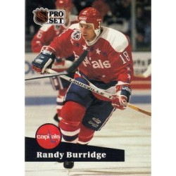 1991-92 Pro Set c. 510 Randy Burridge WSH
