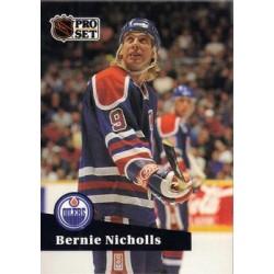 1991-92 Pro Set c. 386 Bernie Nicholls EDM