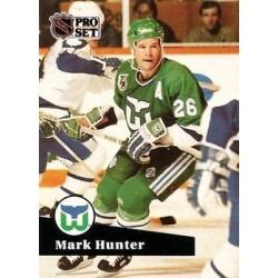 1991-92 Pro Set c. 390 Mark Hunter HFD