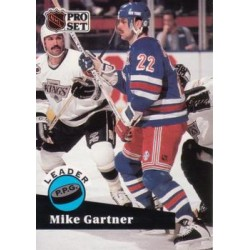 1991-92 Pro Set c. 604 Mike Gartner