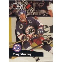1991-92 Pro Set c. 514 Troy Murray WIN