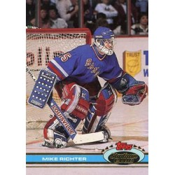 1991-92 Topps Stadium Club c. 092 Mike Richter