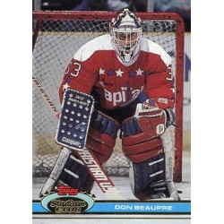1991-92 Topps Stadium Club c. 246 Don Beaupre WSH