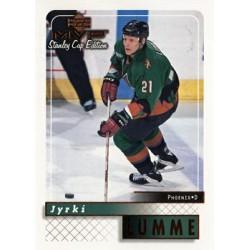 1999-00 MVP SC Edition c. 143 Jyrki Lumme PHX