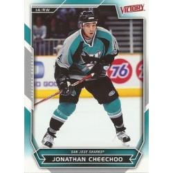2007-08 Victory c. 176 Jonathan Cheechoo SJS